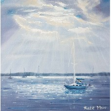 Dramatic light at Poole Harbour 1