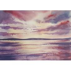 Dramatic light over the sea 4