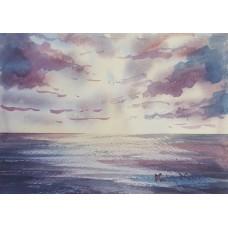 Dramatic light over the sea 5