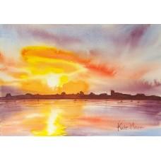Sunset at Christchurch Harbour 4
