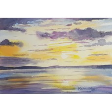 Sunset over the sea 9